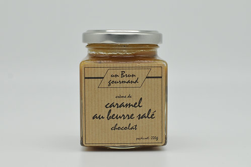 Crème de caramel au beurre salé chocolat 220g