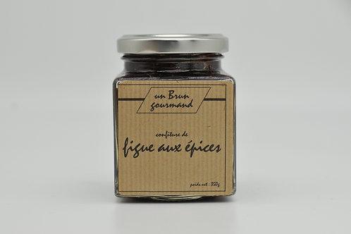 Confiture de figues aux épices