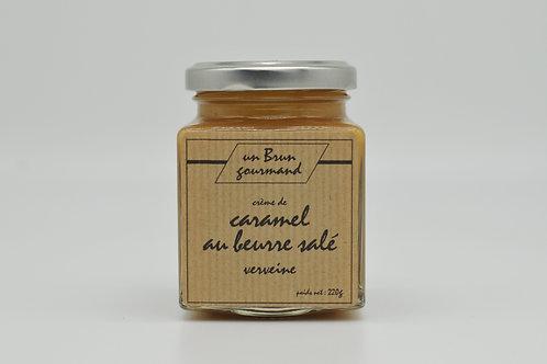 Crème de caramel au beurre salée à la Verveine 220g