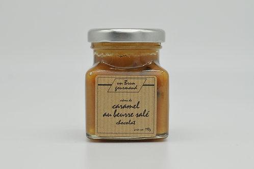 Crème de caramel au beurre salé chocolat 110g
