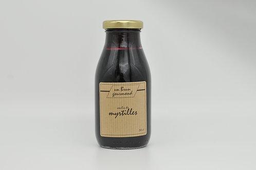 Coulis de Myrtilles 250ml