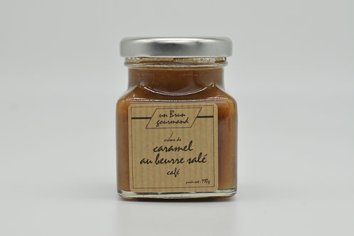 Crème de caramel au beurre salé café 110G