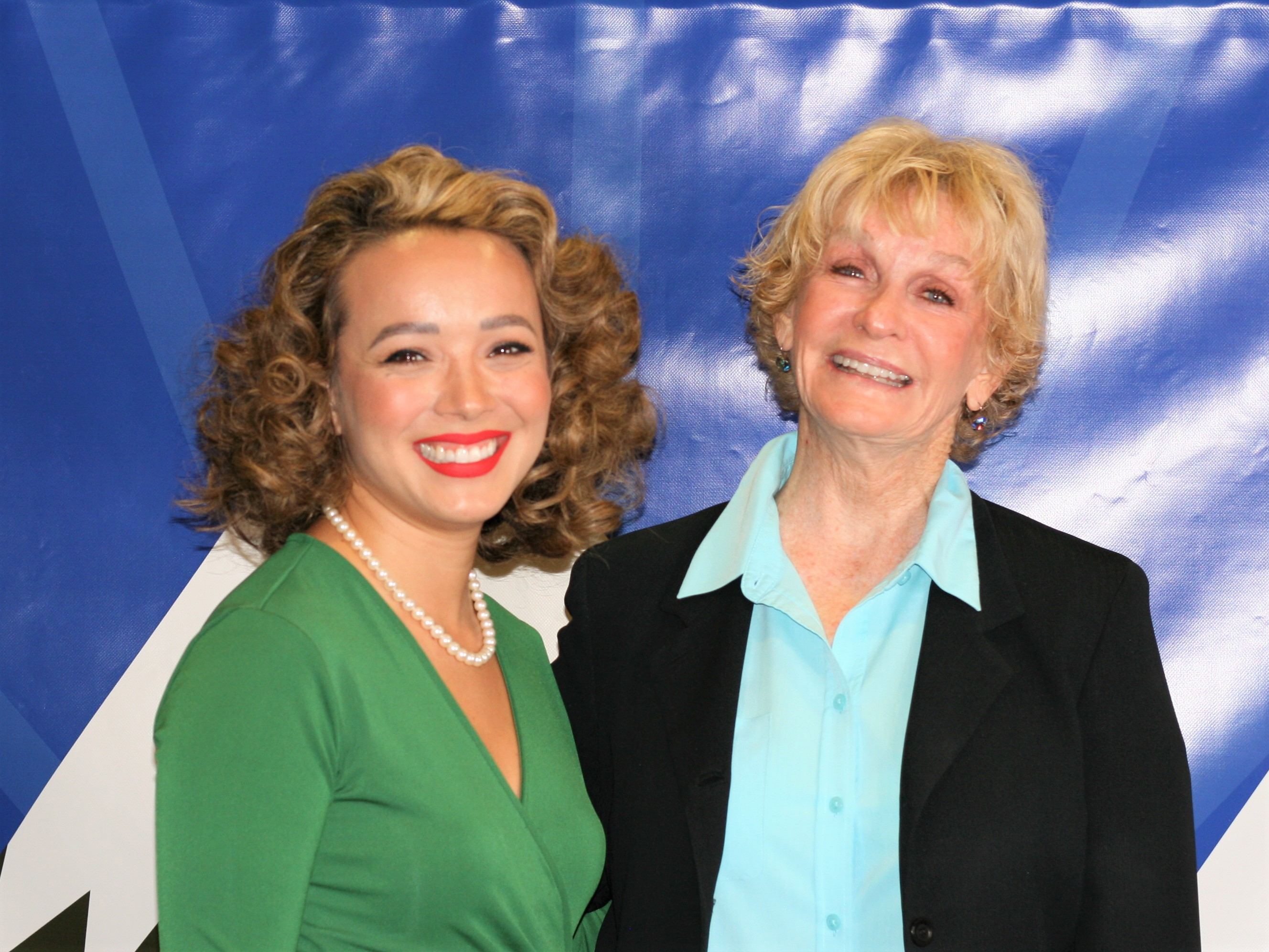 Leslie Juvin-Acker and Vista Mayor, Judy Ritter