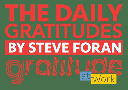 the daily gratitudes