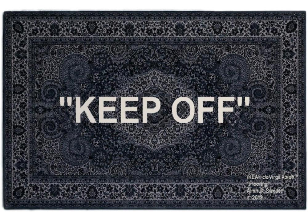 Keep Off Rug by Virgil Abloh Ikea
