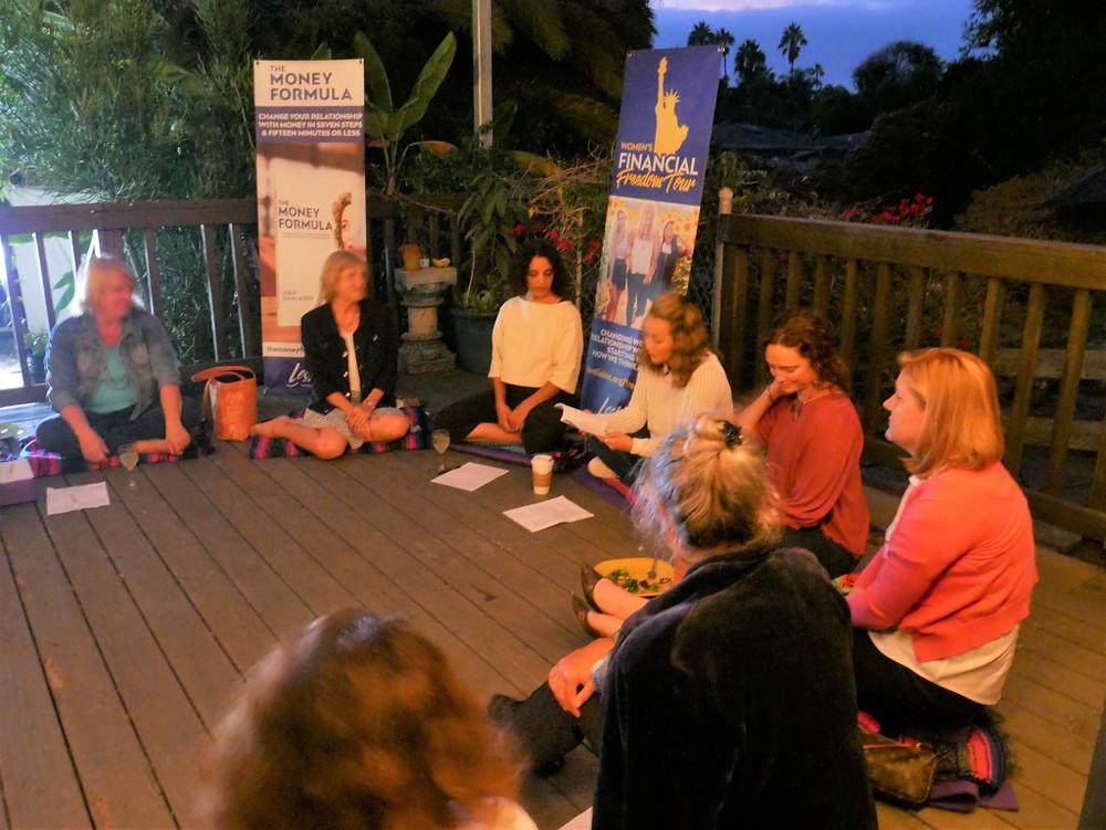 indigo dragon center supports the women's financial freedom tour