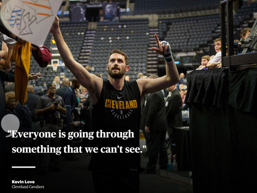 NBA Star Kevin Love Reveals He Got Help For Panic Attacks