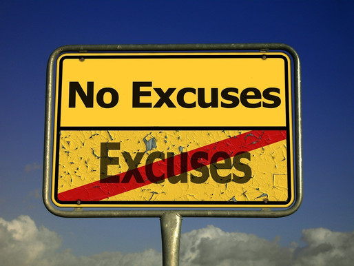 UNMASKING THE FEAR BEHIND EXCUSES