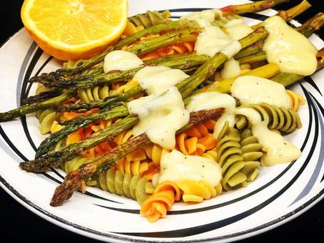 Creamy Lemon Asparagus Entrée
