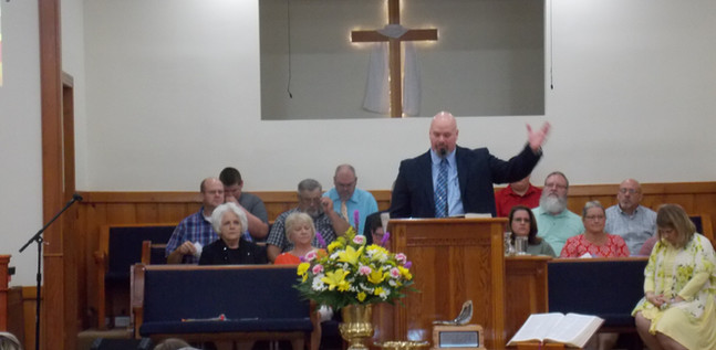 Pastor Kerry Mitchell July 2019