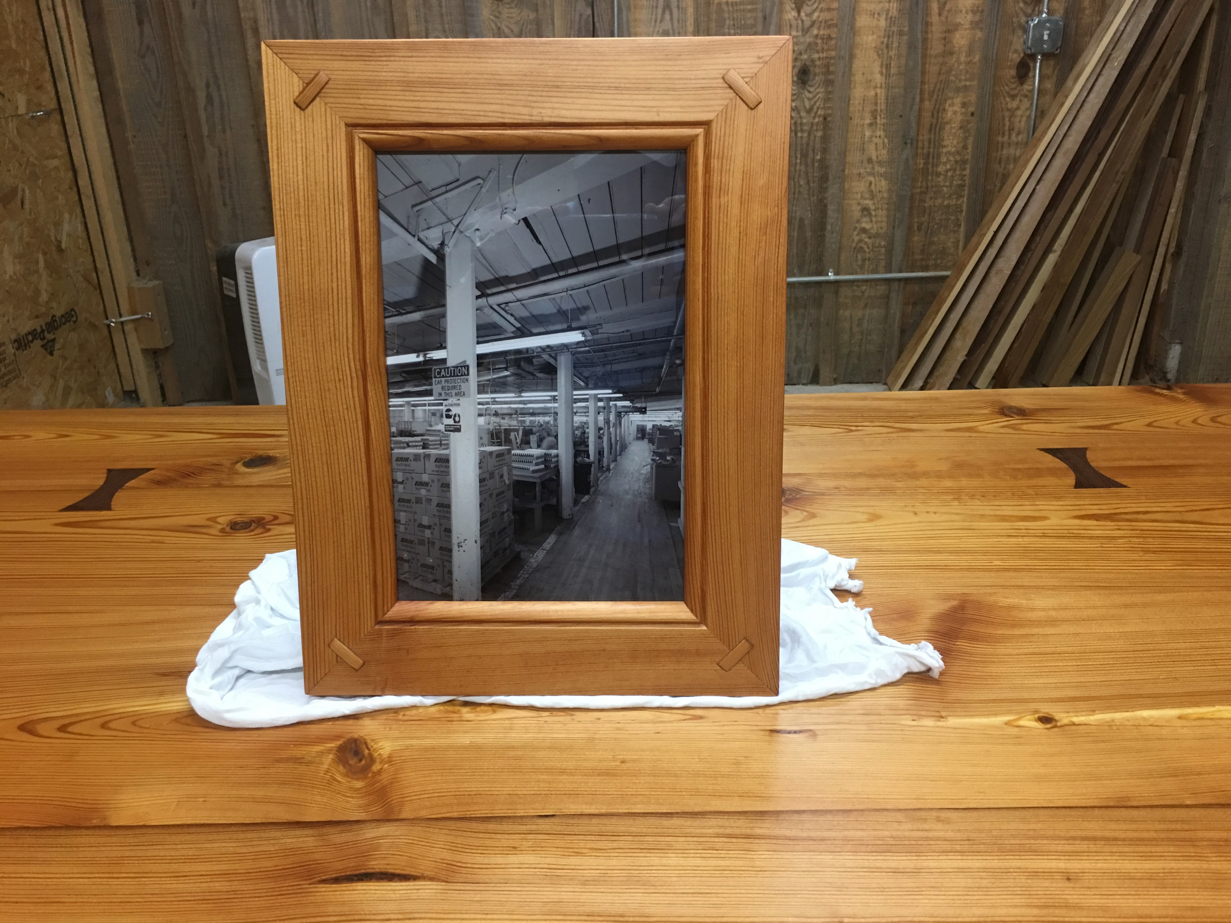 Selma Cotton Mill Frame