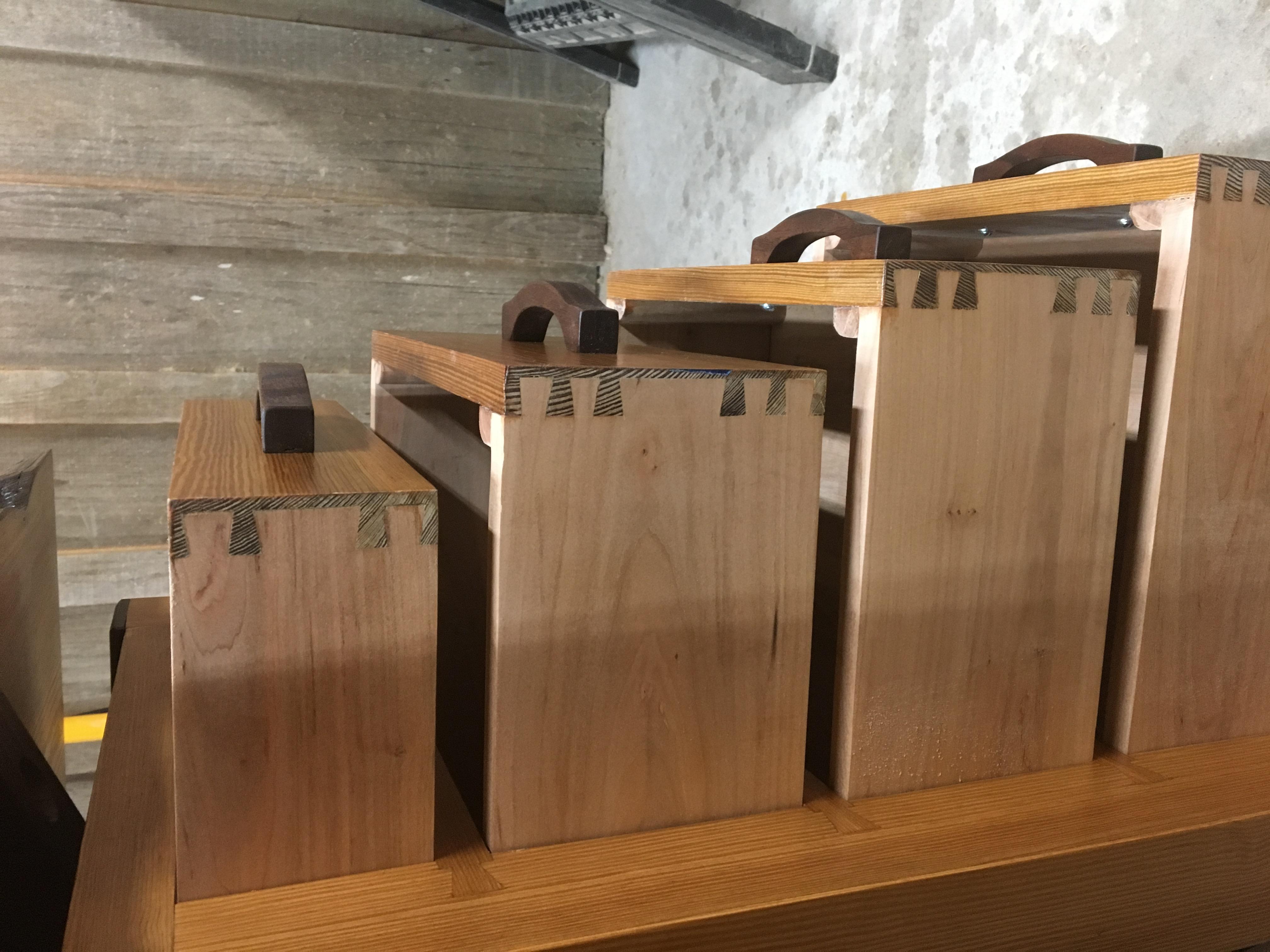 162 pairs of handcut dovetails