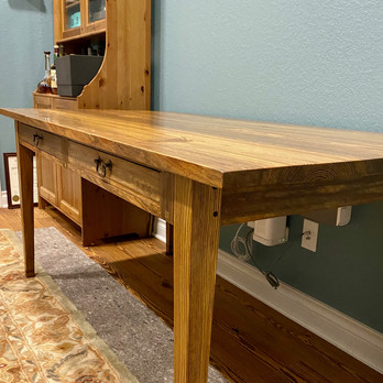 Writing Desk Tapered Legs