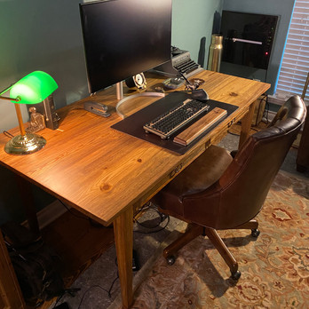 Two Drawer Writing Desk