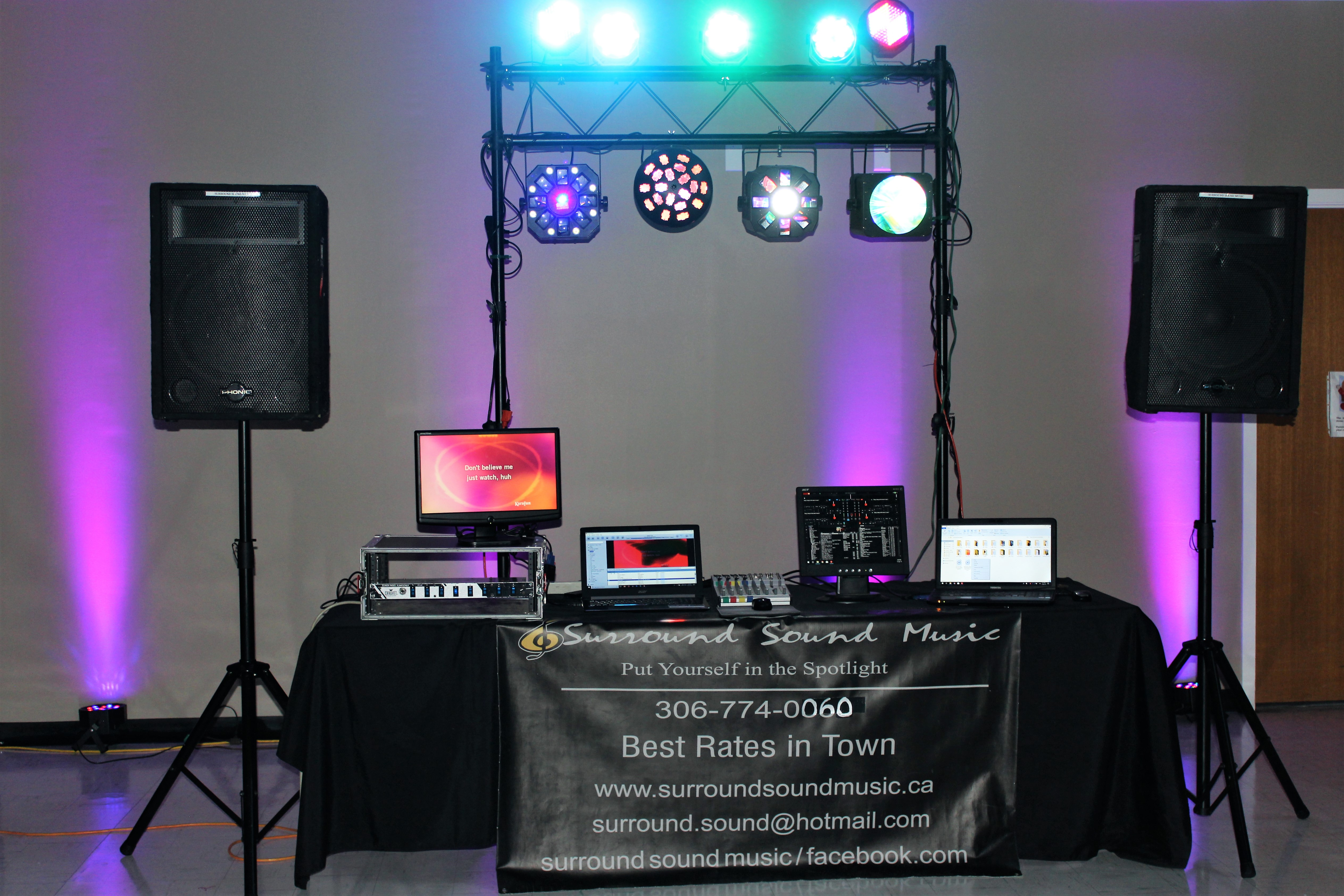 Surround Sound Music | Saskatchewan DJ