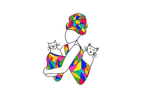 Catmom card