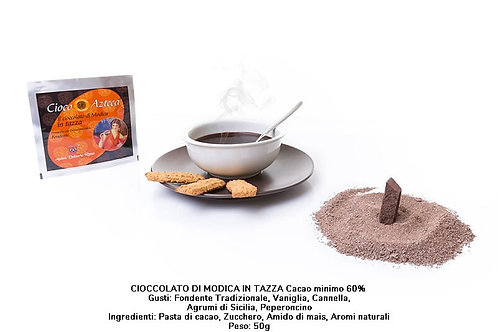 ORGANIC CIOCO AZTECA MODICA CHOCOLATE 50 GR