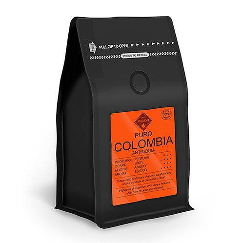 PURO COLOMBIA ANTIOQUIA 100% ARABICA COFFEE BEANS 200 GR