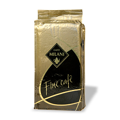 "CAFFE' MILANI ""FINE CAFÈ"" 100% ARABICA GROUND COFFEE 250 GR"