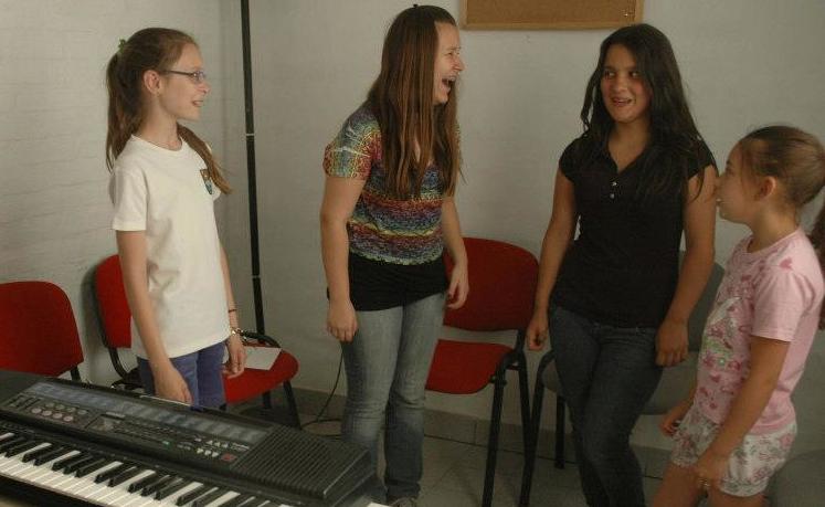 En clase de Canto