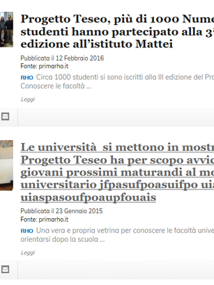 Progetto Teseo