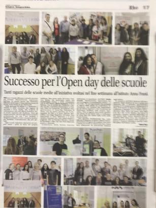 Sucesso per l'Open day delle scuole