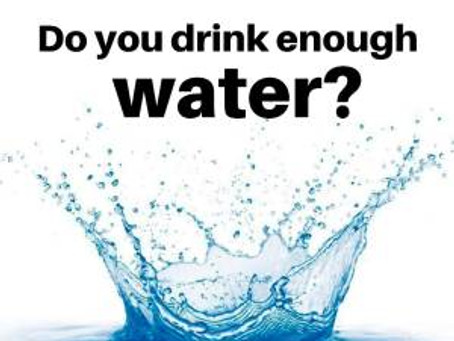 Water: are you having enough?