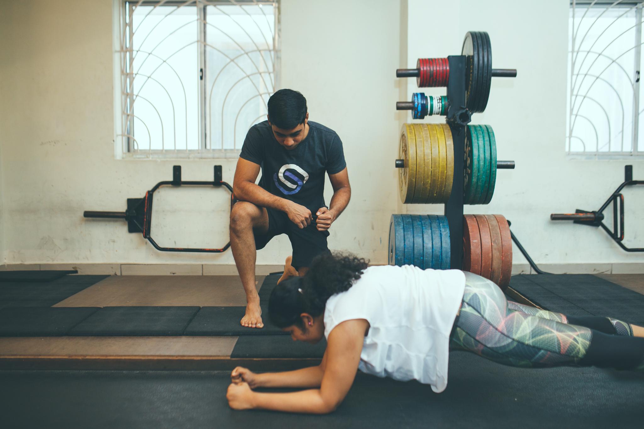 Sadhika | Plank | Coached