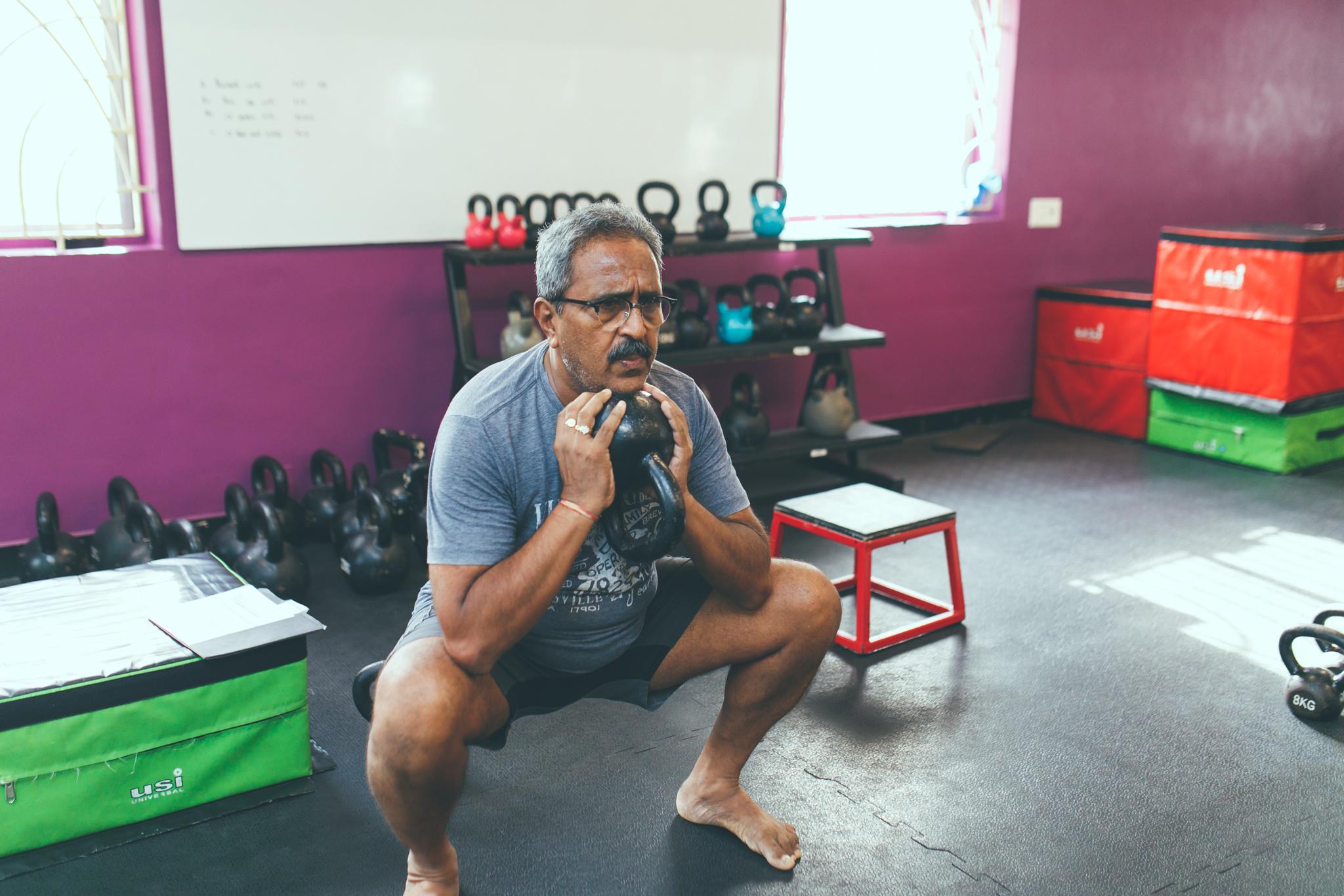 Nitin Patel | Goblet Squat