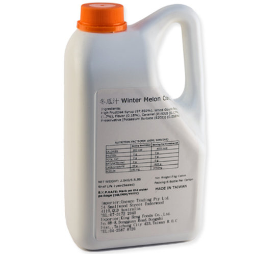 TC Winter Melon Flavor Concentrated Syrup (2.5kg or 2.1L)
