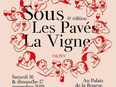 Rdv à Sous les Pavés la Vigne !