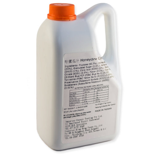 TC Honeydew Flavor Concentrated Syrup (2.5kg)
