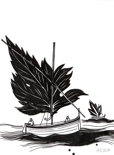 La barque catalane