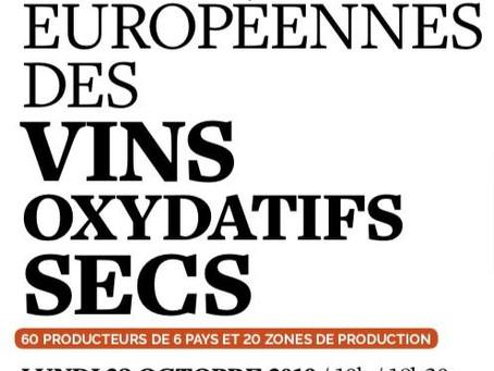 Rencontres Européennes des Vins Oxydatifs Secs  '' Be Ranci ''