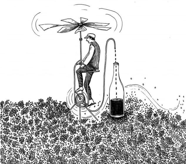 La machine à faire du vent et du vin