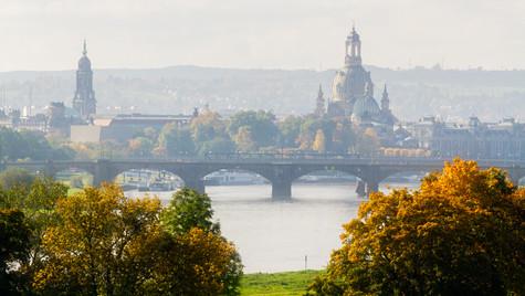Elbe bei Dresden