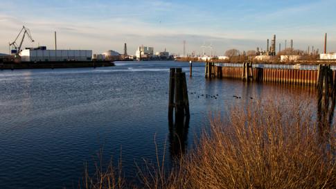 Lauenbrucher Hafen