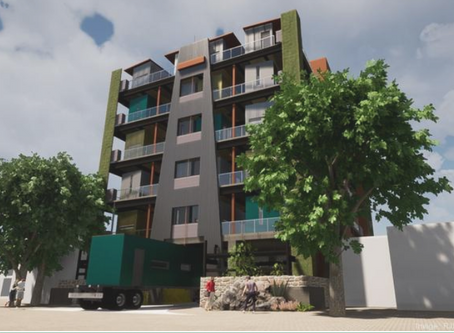Multifamily shipping-container project proposed at West Colfax site