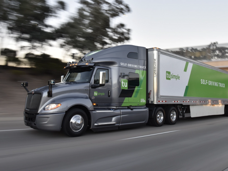TechCrunch: Self-driving trucks startup TuSimple raises $350M from US rail, retail and freight giant