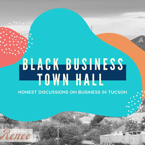Black Business Town Hall: Where We Are, Where We're Going