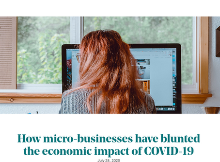 How micro-businesses have blunted the economic impact of COVID-19