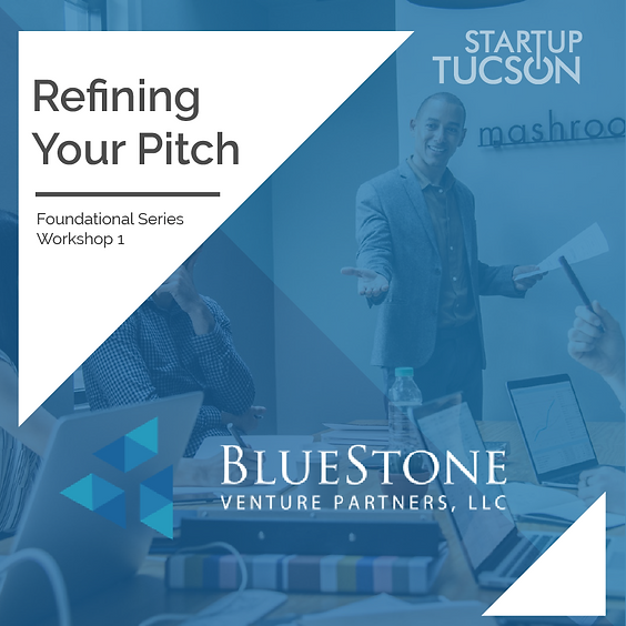 Refining Your Pitch with BlueStone Venture Partners