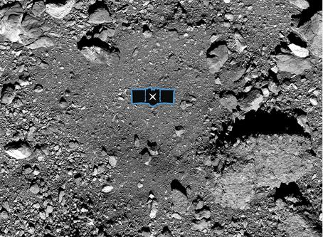 [University of Arizona] NASA's OSIRIS-REx Successfully Touches Asteroid Bennu