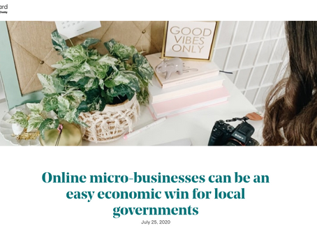 Online Micro-Businesses Can Be an Easy Economic Win for Local Governments