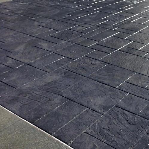New Concrete Driveway - Coloured & Stamped (Price per m2)