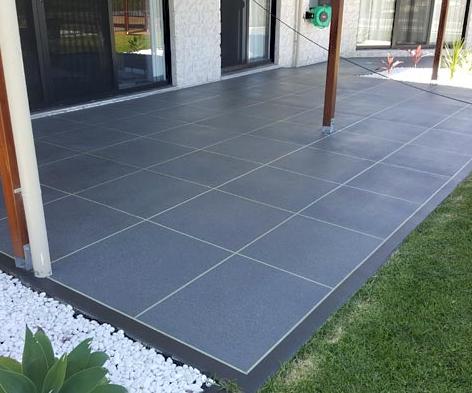 Tiled Pattern Concrete Resurfacing