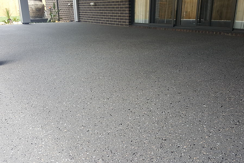 Driveway Makeover - Spray Resurfacing Exposed Aggregate (Price per m2)