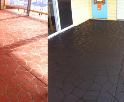 Colour Sealer Before and After