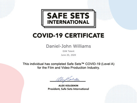 COVID-19 Certificate for Safety