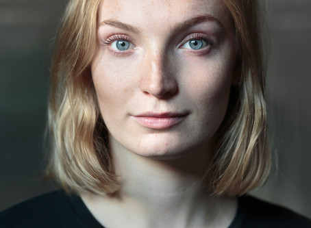 Grace Davey self tapes for exciting feature film